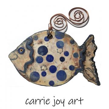 Polymer Clay Fish Figure