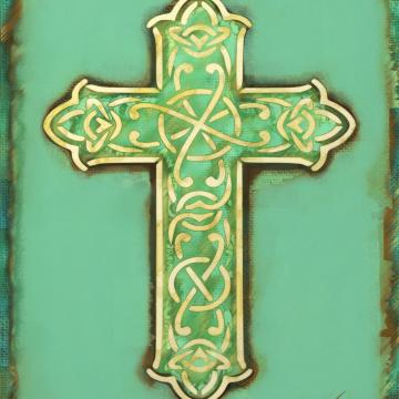 Celtic Cross Symbolic Art